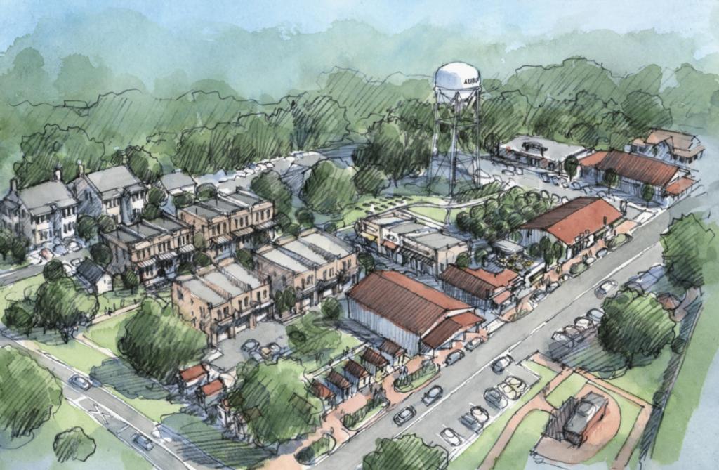 Auburn, GA - Auburn Downtown Development
